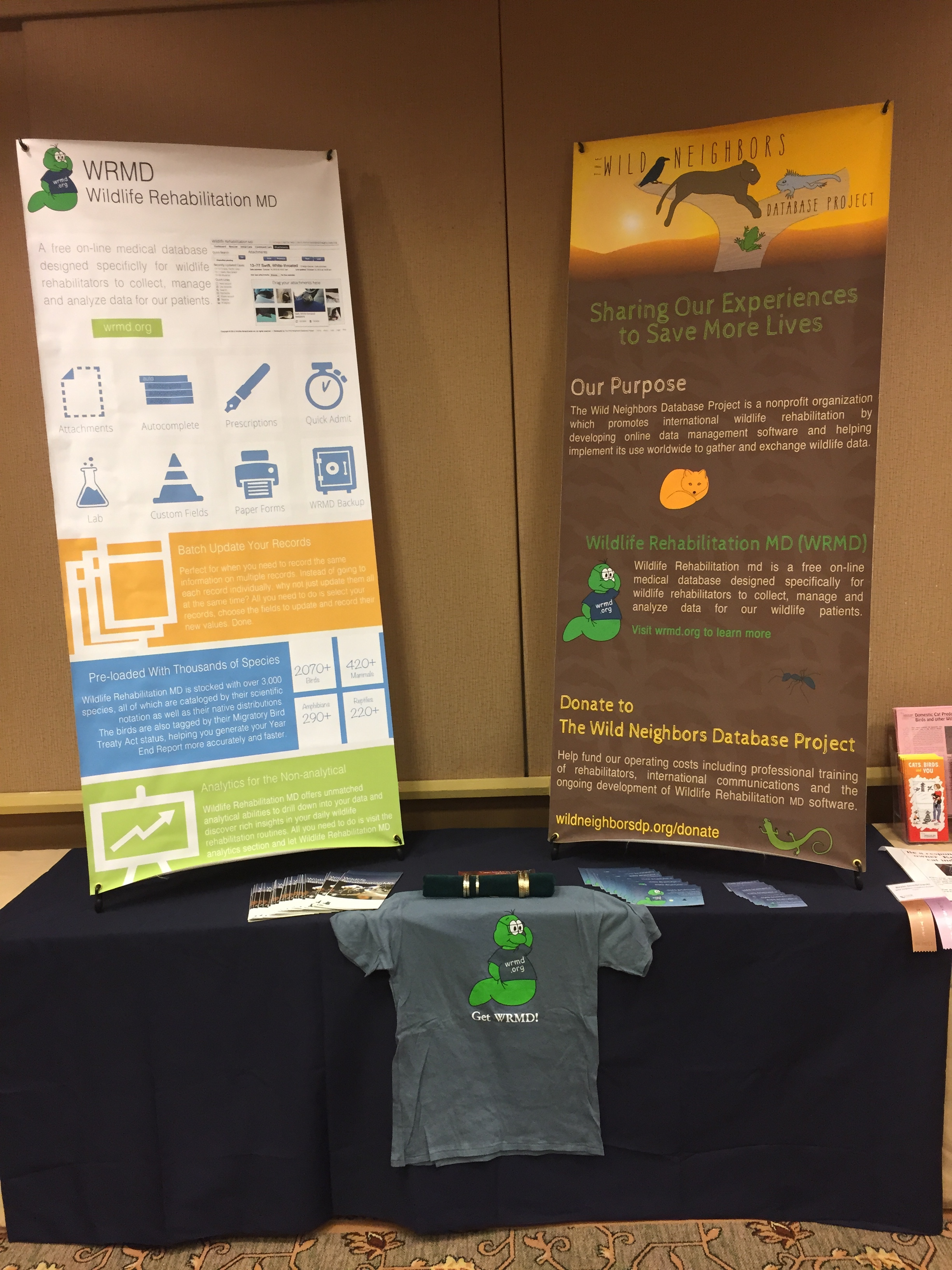 WRMD Booth at CCWR 2014